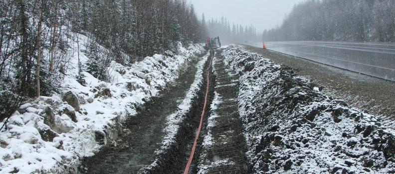 GCI Communication Parks Highway Fiber Project