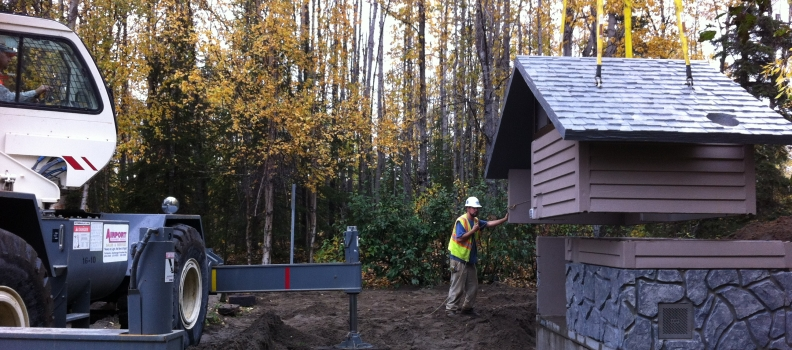 DNR Toilet Replacement Project Kenai and Fairbanks